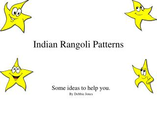 Indian Rangoli Patterns