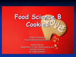 Food Science B Cookies