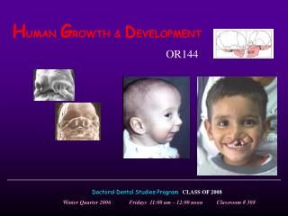 HUMAN GROWTH  DEVELOPMENT