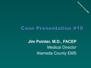 Case Presentation 19