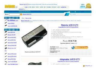 Batería ASUS G73JH-X1
