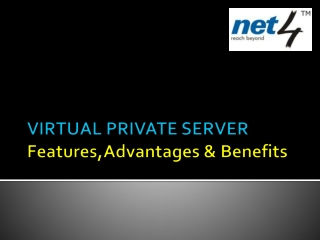 VPS: Features, Advantages and Benefits