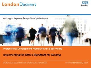 Professional Development Framework for Supervisors