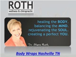 Body Wraps Nashville TN