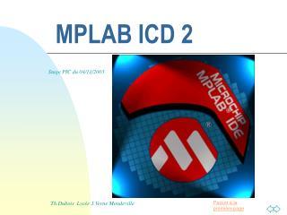 MPLAB ICD 2