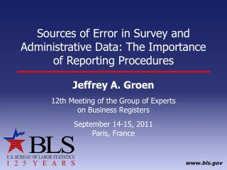 Sources of Error in Survey and Administrative Data: The Importance of Reporting Procedures