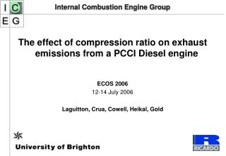 Internal Combustion Engine Group