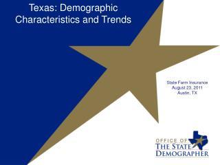 State Farm Insurance August 23, 2011 Austin, TX