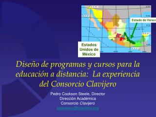 Dise o de programas y cursos para la educaci n a distancia:  La experiencia  del Consorcio Clavijero