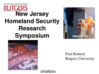New Jersey Homeland Security Research Symposium