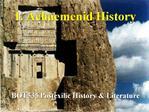 1. Achaemenid History