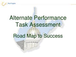 Alternate Performance Task Assessment