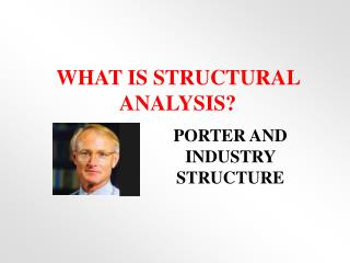 WHAT IS STRUCTURAL ANALYSIS