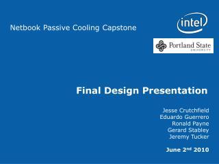 Final Design Presentation
