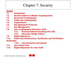 Chapter 7: Security