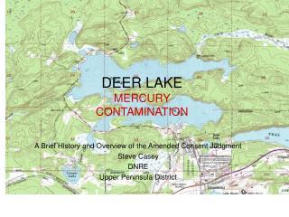 DEER LAKE MERCURY  CONTAMINATION
