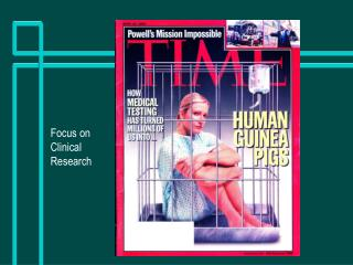 Focus on Clinical Research