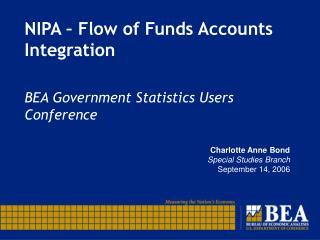 NIPA   Flow of Funds Accounts Integration