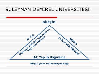 S LEYMAN DEMIREL  NIVERSITESI