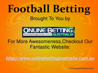 Online Betting Australia