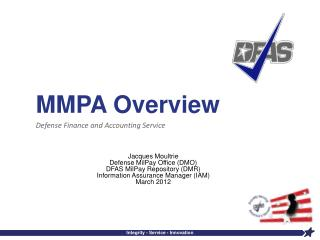 MMPA Overview