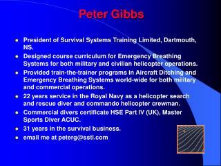 Peter Gibbs