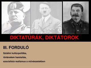 DIKTAT R K, DIKT TOROK