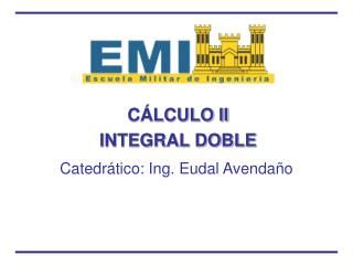 C LCULO II INTEGRAL DOBLE