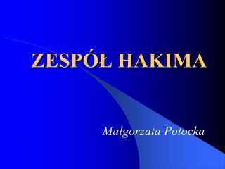 ZESP L HAKIMA