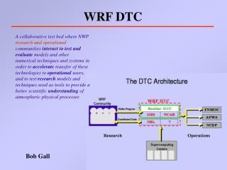 Fundamental Purpose of DTC