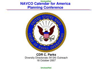 NAVCO Calendar for America  Planning Conference