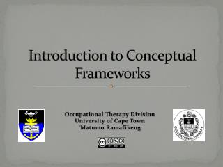 Introduction to Conceptual Frameworks