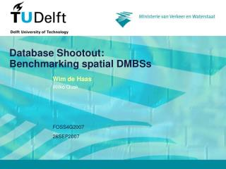 Database Shootout: Benchmarking spatial DMBSs