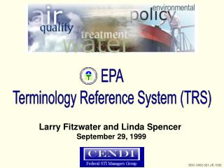 EPA Terminology Reference System TRS