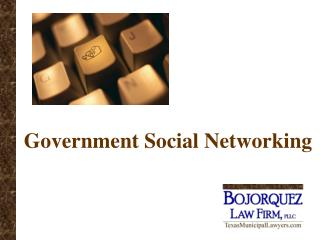 Government Social Networking