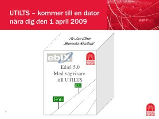 UTILTS   kommer till en dator n ra dig den 1 april 2009