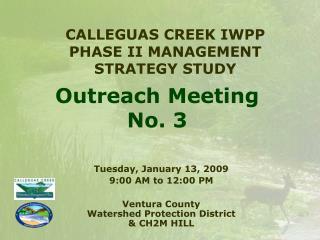 Outreach Meeting  No. 3