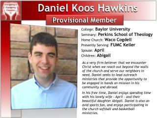 Daniel Koos Hawkins