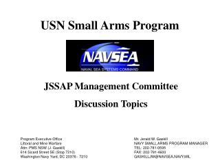 JSSAP Management Committee Discussion Topics