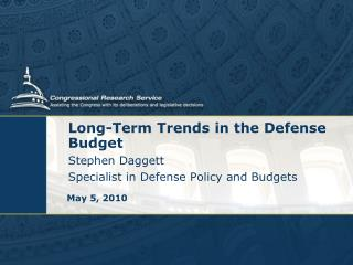 Long-Term Trends in the Defense Budget