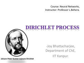 Course: Neural Networks,  Instructor: Professor L.Behera.