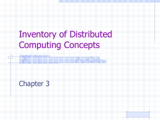Distributed computing environment    dce