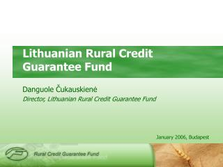 Lithuanian Rural Credit Guarantee Fund