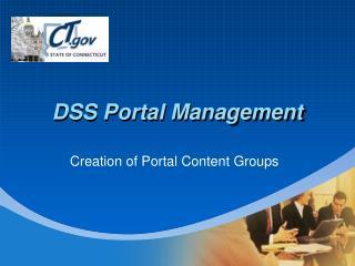 DSS Portal Management