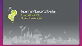 Securing Microsoft Silverlight
