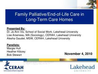 Family Palliative