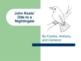 John Keats  Ode to a Nightingale