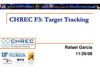 CHREC F3: Target Tracking