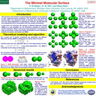 PDE approaches for biomolecular surfaces