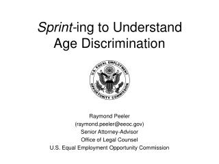Sprint-ing to Understand Age Discrimination